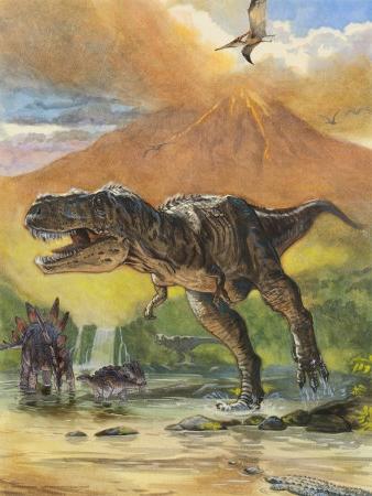 Появление динозавров на земле доклад 1649